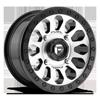 Vector - D580 - UTV Brushed / Gloss Black