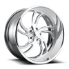 VILLAIN 5 - U725 22x10.5 | Brushed Polished