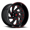 VORTEX - D638 Gloss Black w/ Candy Red