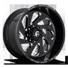 Vortex - D637 Gloss Black & Milled