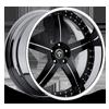 X-23 Black & Milled