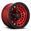 Zephyr - D632 Candy Red w/ Matte Black Ring