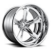 Qualifier - F436 Concave Chrome