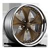 Nitrous X - F217 Satin Bronze w/ Chrome Step Lip