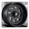 FF39D - 8 Lug Super Single Front Matte Black