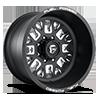 FF45D - Super Single Front Matte Black & Milled