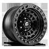 Zephyr Beadlock - D101 Matte Black w/ Matte Black Ring